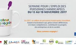 SEMAINE POUR L'EMPLOI DES TRAVALLEURS HANDICAPES
